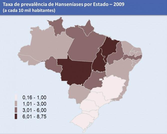 Mapa Prevalência BR