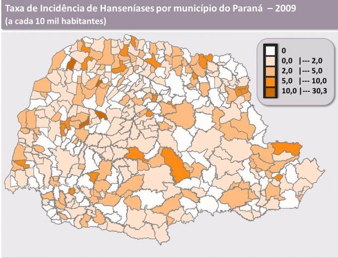 Mapa de Prevalencia - PR