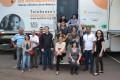 Carreta da Saúde veio pela primeira vez ao Sul do Brasil.